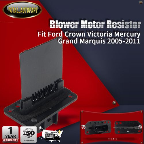 small resolution of details about heater blower motor resistor for ford crown victoria mercury grand marquis 05 11