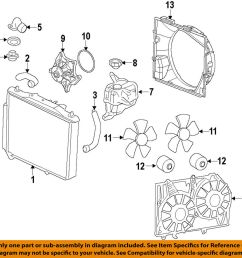 details about cadillac gm oem 09 14 cts engine cooling fan motor 19351719 [ 1000 x 996 Pixel ]