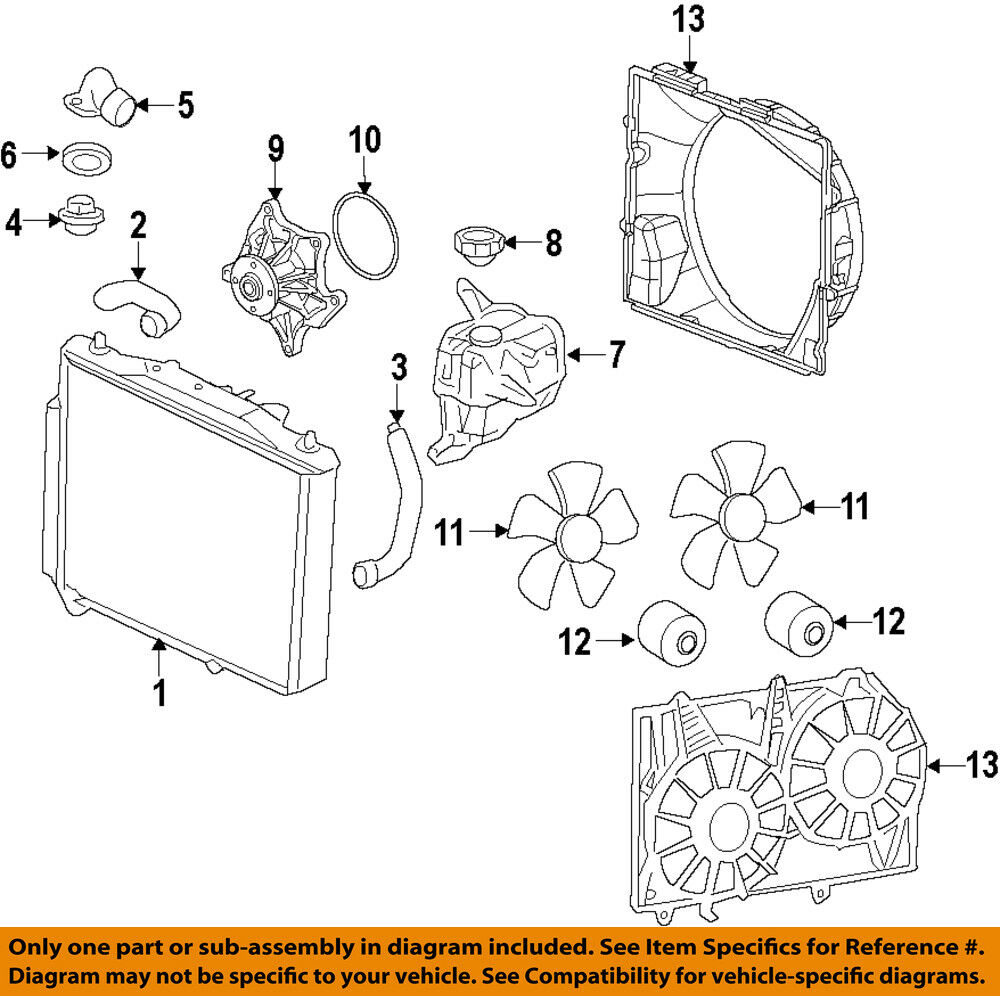 hight resolution of details about cadillac gm oem 09 14 cts engine cooling fan motor 19351719