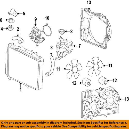 small resolution of details about cadillac gm oem 09 14 cts engine cooling fan motor 19351719