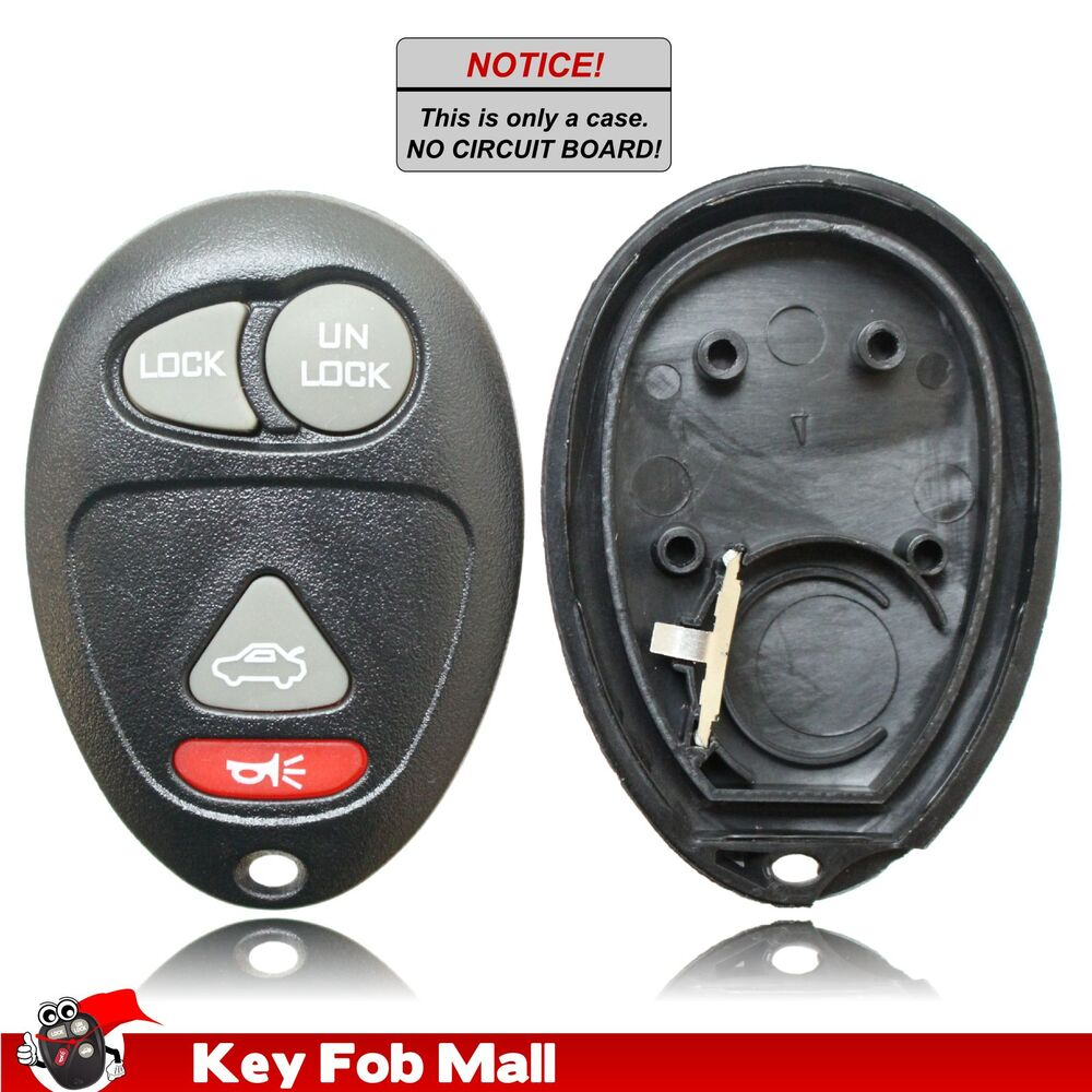 hight resolution of details about new key fob remote shell case for a 2001 pontiac aztek w trunk