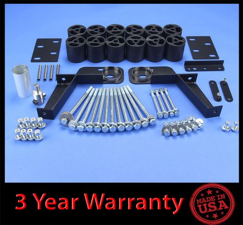 small resolution of details about 95 99 chevy gmc tahoe yukon suburban 2wd 4wd 3 full body lift kit front rear