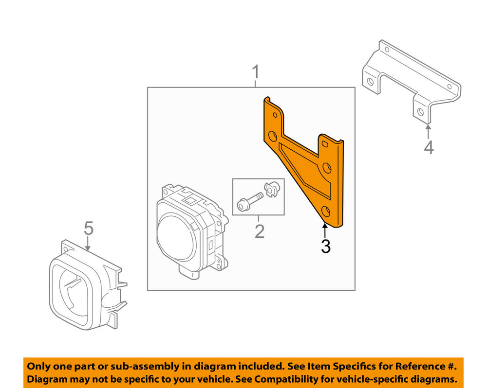 hight resolution of details about audi oem 15 18 a3 2 0l cruise control system distance sensor holder 5q0907461a