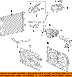 details about chrysler oem engine coolant thermostat housing 5047861ac [ 983 x 1000 Pixel ]