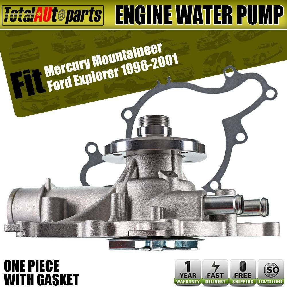 hight resolution of details about engine water pump for ford explorer 1996 2001 mountaineer v8 5 0l ohv 125 1960