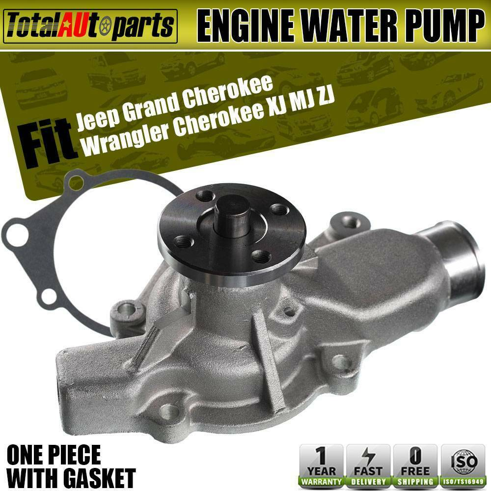 hight resolution of details about engine water pump for jeep grand cherokee 93 98 wrangler 91 02 dakota 2 5l 4 0l