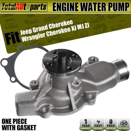 small resolution of details about engine water pump for jeep grand cherokee 93 98 wrangler 91 02 dakota 2 5l 4 0l