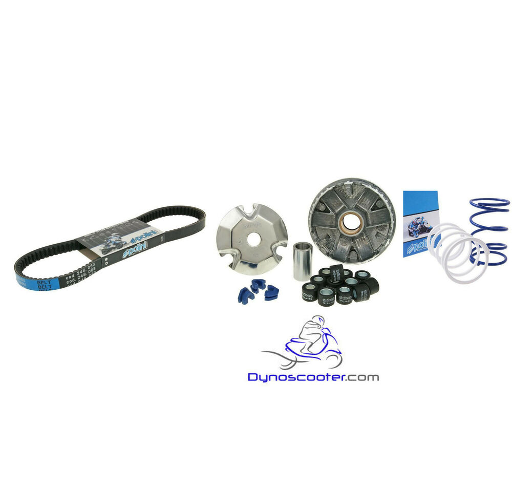Polini High performance variator kit with belt and clutch
