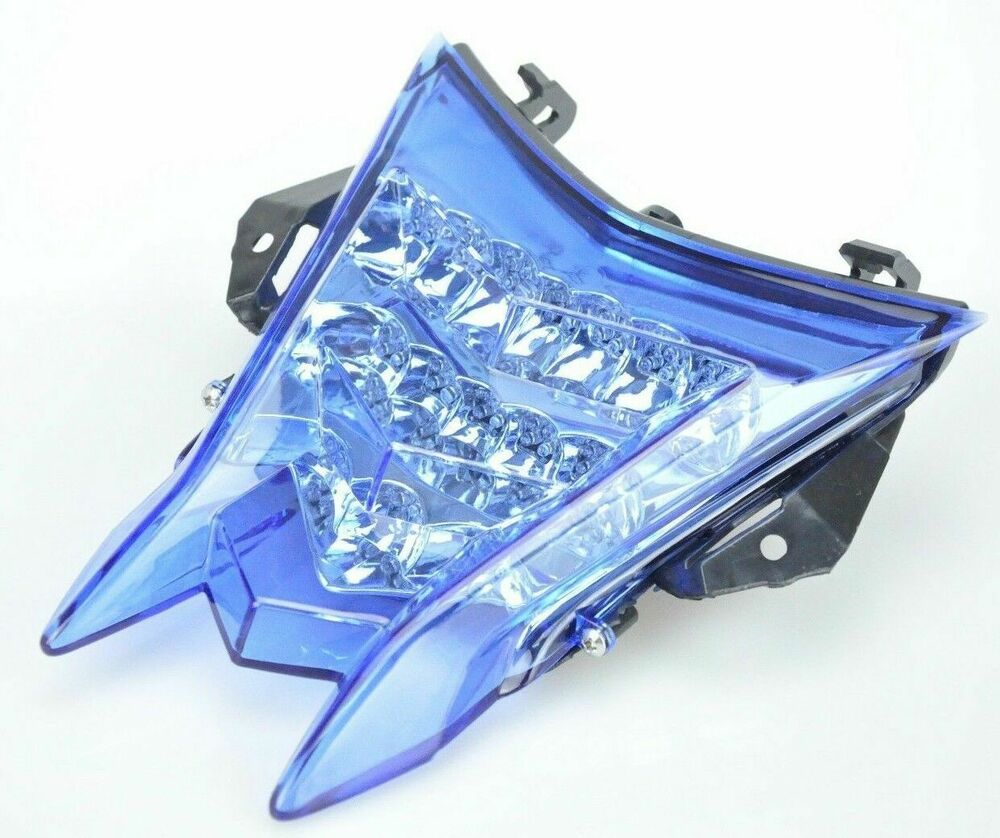 hight resolution of details about led tail light blue lens integrated turn signals for bmw s1000rr s1000r hp4
