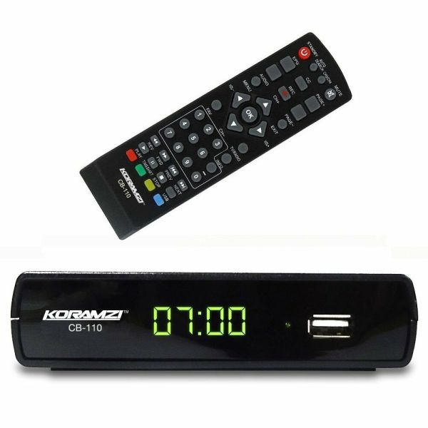 Analog Digital Tv Converter Box Remote Control Koramzi Cb-110 785339979646
