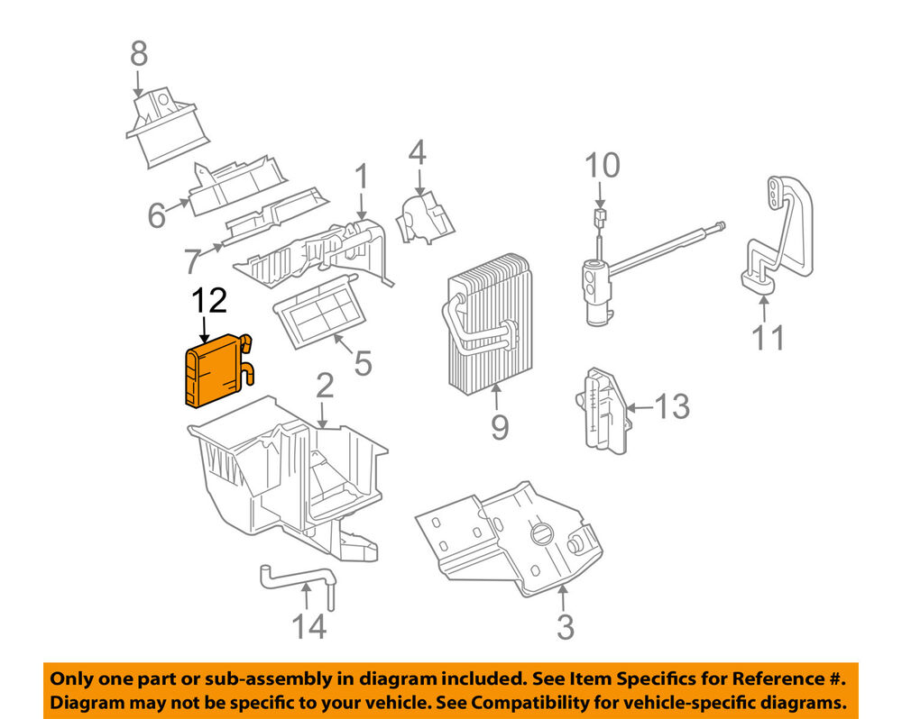 medium resolution of details about gm oem heater core 10362445