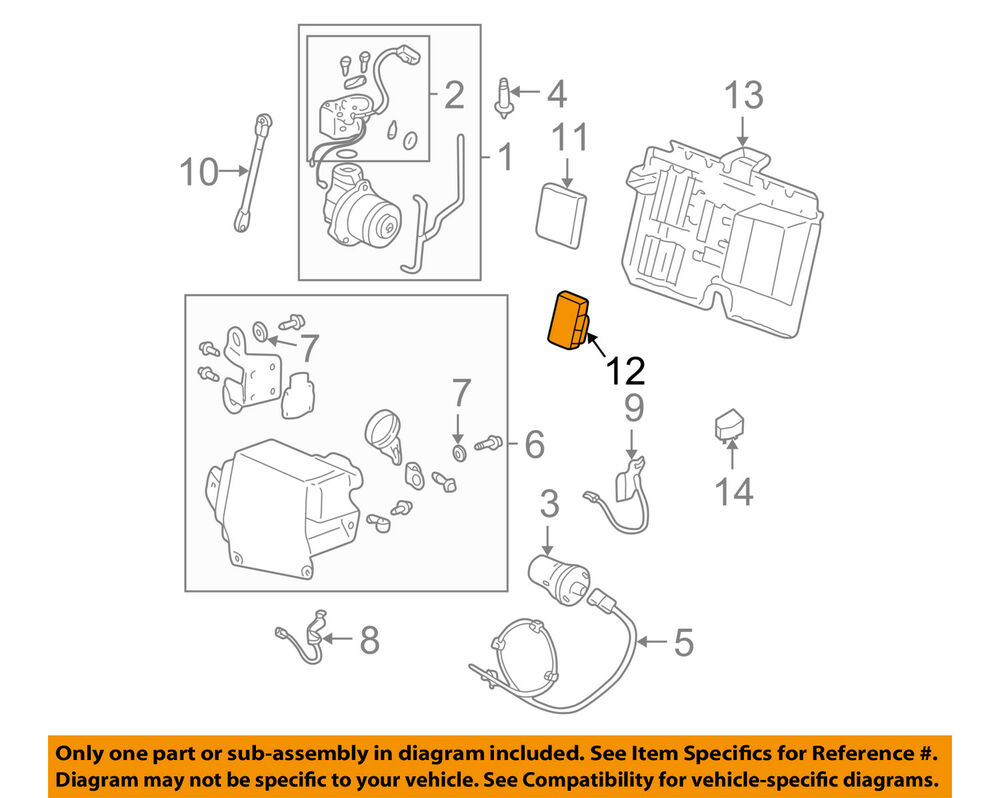 hight resolution of details about cadillac gm oem 00 05 deville rear ride control module 21996860