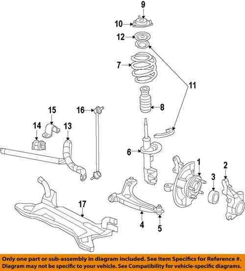 small resolution of details about chrysler oem stabilizer sway bar front link 5174185ac