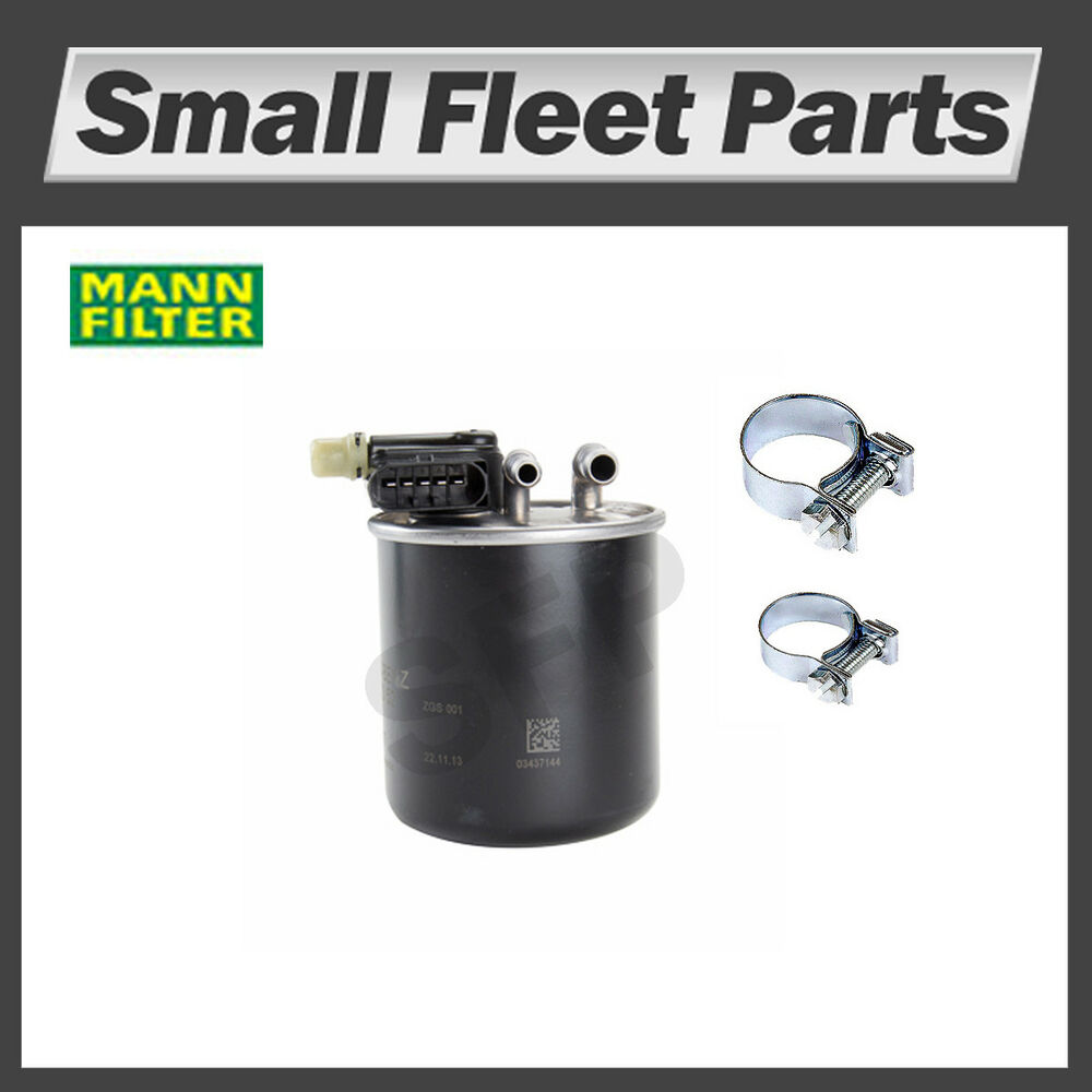 medium resolution of details about mann wk 820 15 fuel filter mb freightliner sprinter 642 090 60 52