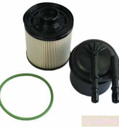 details about fuel filter for ford f250 350 450 550 11 16 super duty 6 7l v8 diesel engines [ 1000 x 1000 Pixel ]