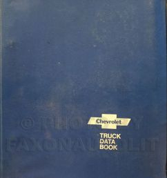 details about 1978 chevy truck data book for all chevrolet trucks options and specifications [ 841 x 1000 Pixel ]