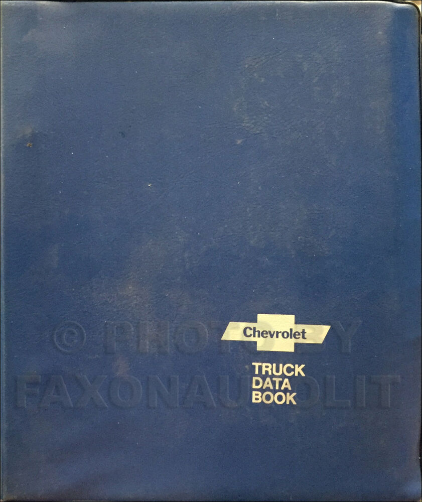 hight resolution of details about 1978 chevy truck data book for all chevrolet trucks options and specifications