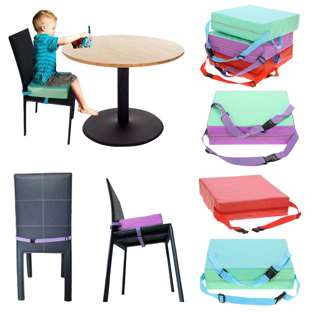 Booster High Chair Seat Children Baby Toddler Increased High Chair Seat Pad Safe Booster Dining Cushion Ebay