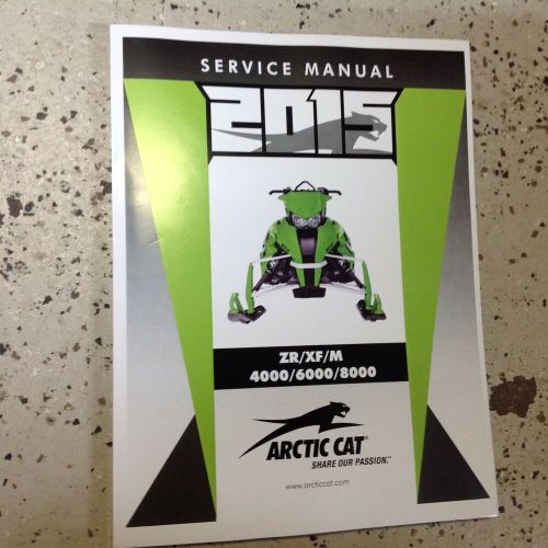 small resolution of details about 2015 arctic cat 2 stroke zr xf m 4000 6000 8000 service shop repair manual new