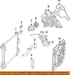 details about chrysler oem engine water pump 5038668ad [ 912 x 1000 Pixel ]
