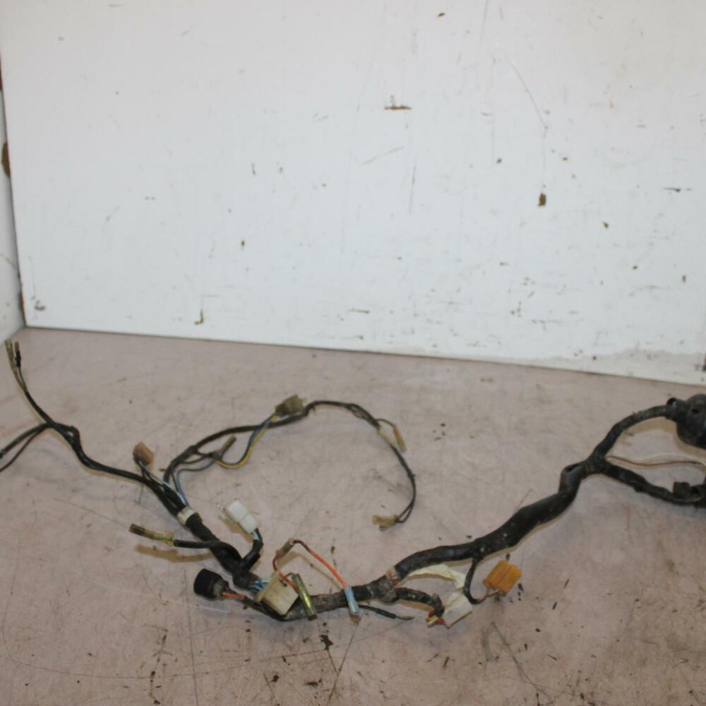 hight resolution of details about 88 90 yamaha dt50u dt 50 main engine wiring harness motor wire loom