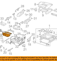 details about audi oem 02 04 a4 quattro front seat storage drawer right 8e0882604 [ 1000 x 798 Pixel ]