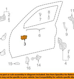 details about toyota oem 98 00 tacoma interior inside door handle right 6920504010b2 [ 1000 x 798 Pixel ]