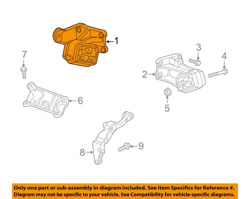 small resolution of details about ram chrysler oem 14 17 2500 engine motor mount torque strut 68140535ab
