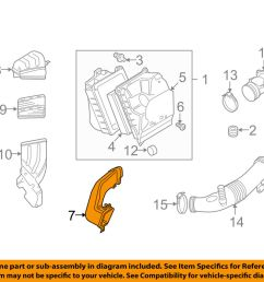 details about audi oem 04 07 s4 air cleaner intake hose duct tube pipe 8e0129604g [ 1000 x 798 Pixel ]