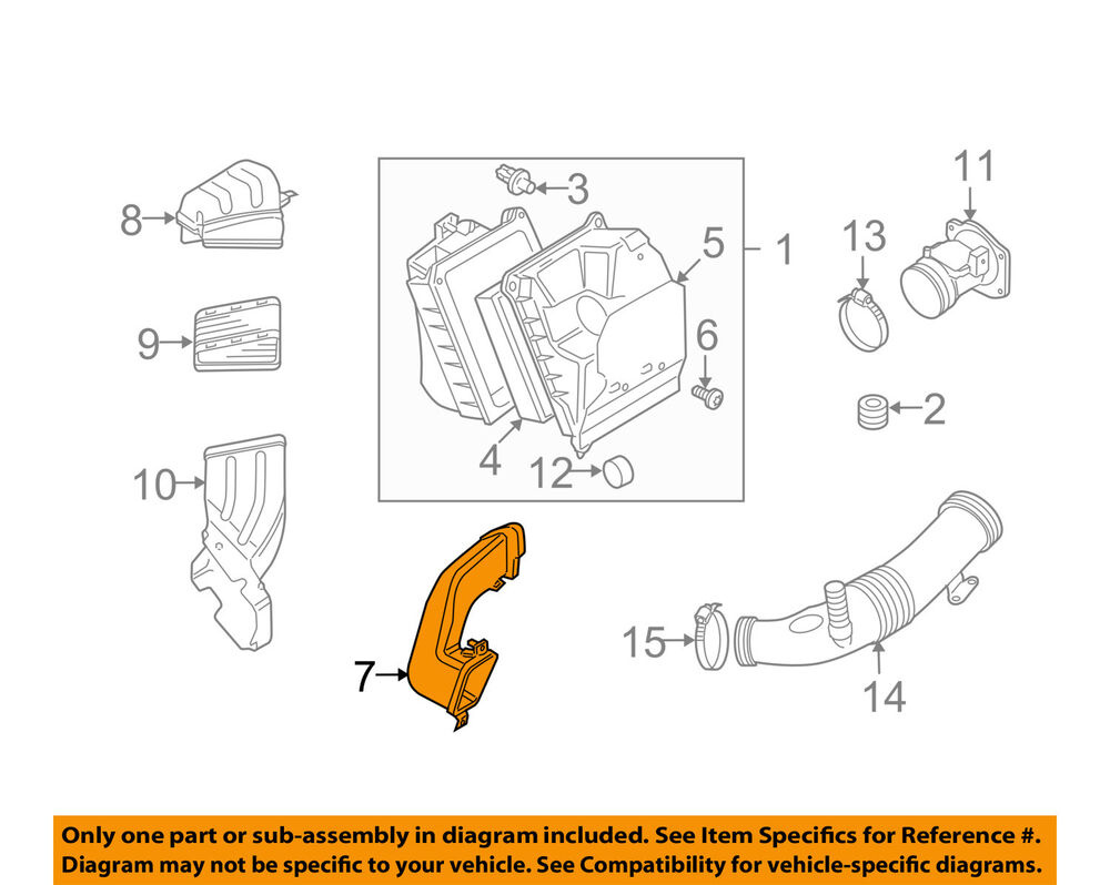 hight resolution of details about audi oem 04 07 s4 air cleaner intake hose duct tube pipe 8e0129604g