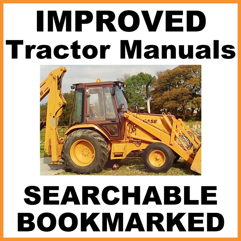 medium resolution of details about case 580b shuttle tractor service shop operator parts manual manuals set cd