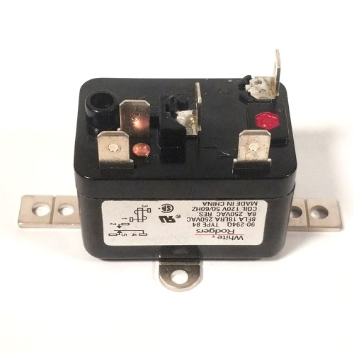 small resolution of details about white rodgers 90 294q 120v spdt enclosed relay heating cooling general switching