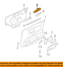 details about cadillac gm oem 03 07 cts front door switch bezel right 89038794 [ 1000 x 798 Pixel ]