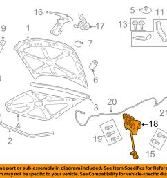 details about gm oem hood lock latch 92258586 [ 1000 x 798 Pixel ]