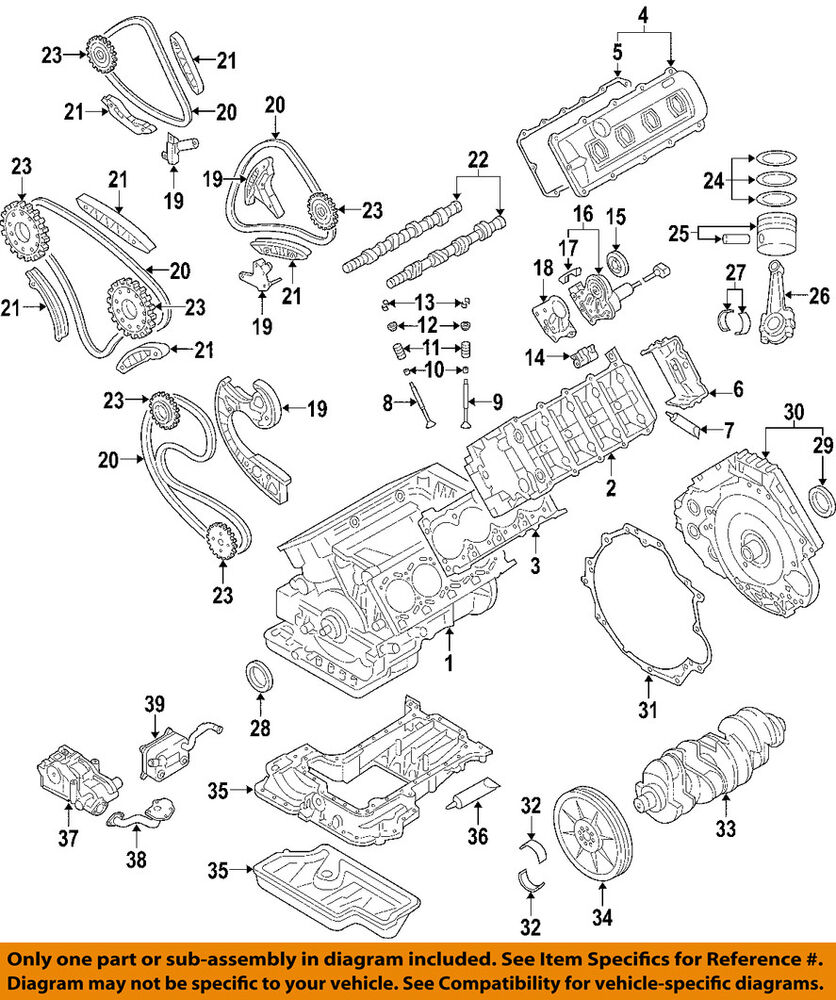medium resolution of details about audi oem 04 09 s4 engine timing cover 079109210l