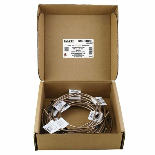 small resolution of ags ez fit brake line kit for 00 02 suburban yukon acalanche escalade cnc 148kit ebay