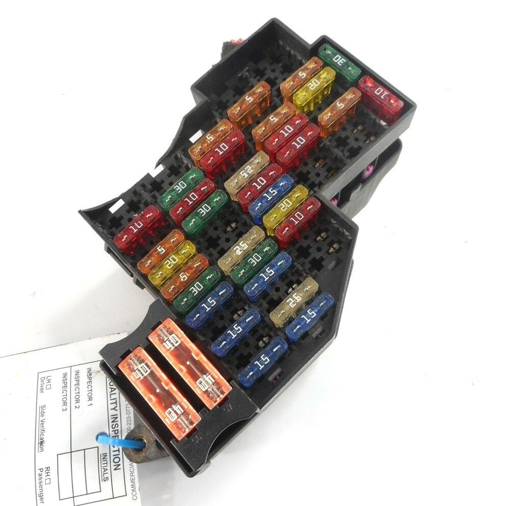 hight resolution of details about 04 porsche cayenne 955 passenger right fusebox fuse box relay oem 7l0341828a