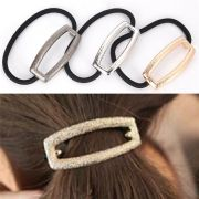 rectangle hair band rope metal