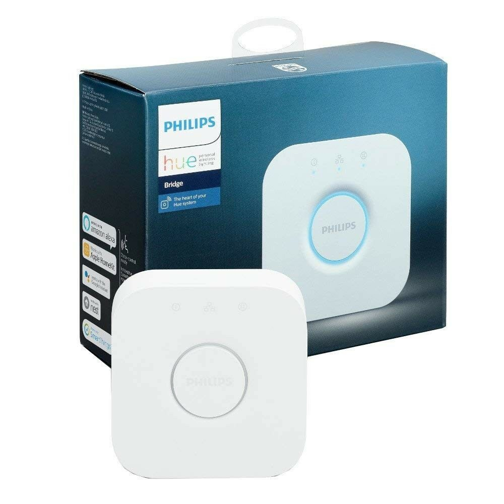 medium resolution of details about philips hue bridge 2nd generation home automation kit 458471