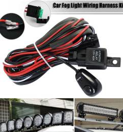details about 40a remote control wiring harness kit strobe switch relay led fog light bar 12v [ 1000 x 1000 Pixel ]