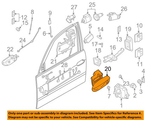 small resolution of details about bmw oem 95 98 750il front door handle left 51218166971