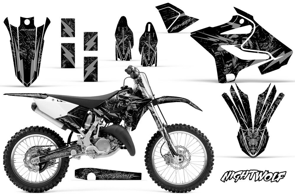Yamaha YZ 125/250 Dirt Bike Graphic Sticker Kit Decal Wrap
