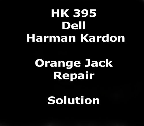 small resolution of details about pin out color code repair instructions for dell harman kardon hk395 pc speakers