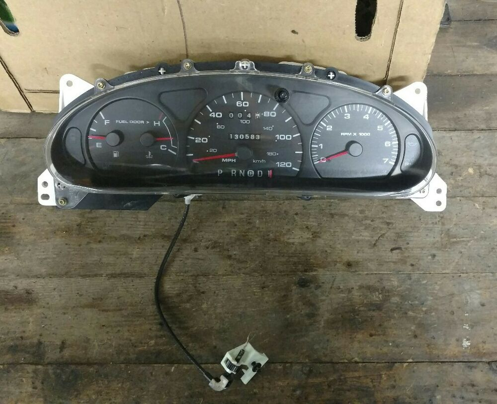 hight resolution of details about ford taurus sable instrument gauge cluster oem 2000