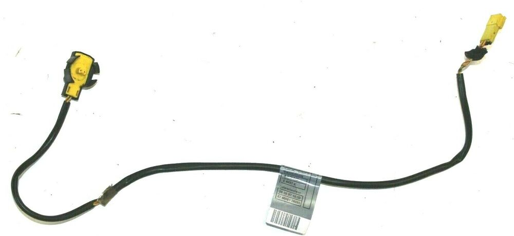 BMW OEM E36 FRONT SEAT BELT RECEIVER WIRING CABLE PLUG