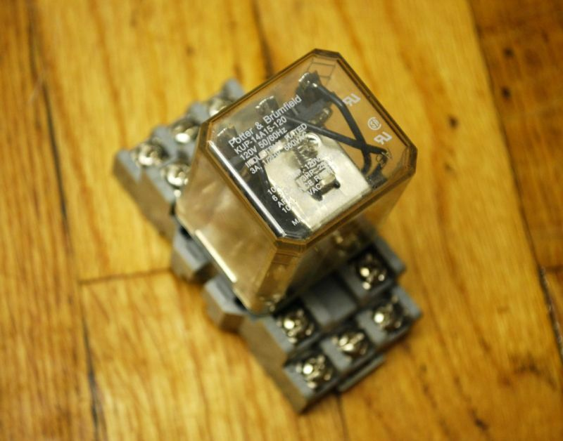 Potter Amp Brumfield Kup 14a15 120 Relay With Base Unit