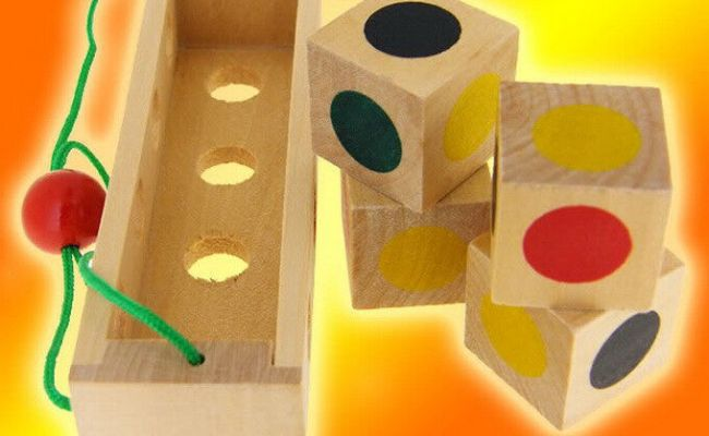 Dna Wood Construction Puzzle Toy Wooden Brain Teaser Ebay