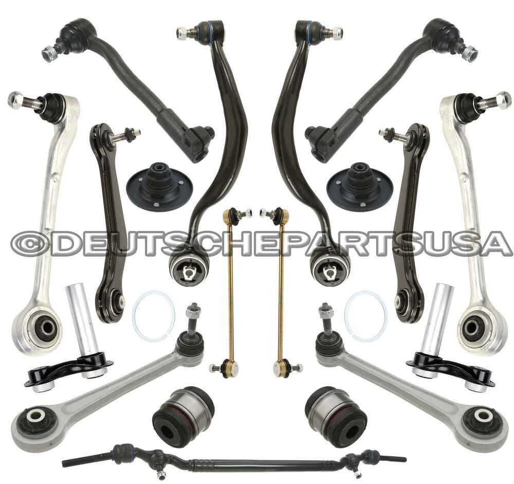 FRONT REAR Control Arm Arms Ball Joint Strut Mount Center