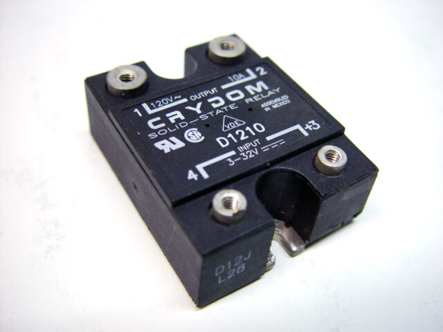 Crydom D Solid State Relay 10a 120v Panel Mount