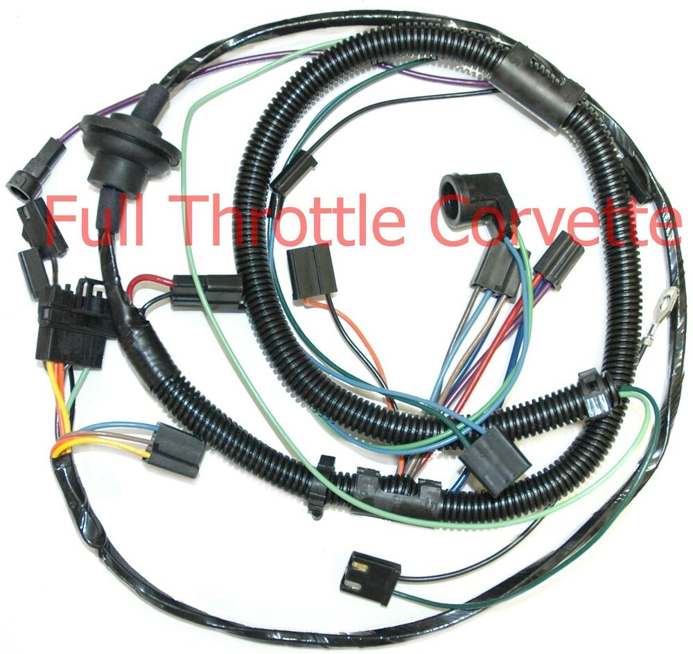 hight resolution of  1978 corvette manual 1978 corvette air conditioning ac wiring harness new